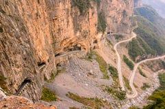 Δρόμος απότομων βράχων στοκ εικόνες