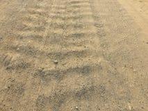 Δρόμος από το αμμοχάλικο ως υπόβαθρο στοκ φωτογραφίες με δικαίωμα ελεύθερης χρήσης