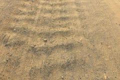 Δρόμος από το αμμοχάλικο ως υπόβαθρο στοκ εικόνες