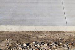 Δρόμος από το σκυρόδεμα Στοκ εικόνες με δικαίωμα ελεύθερης χρήσης