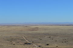 Δρόμος Αριζόνα ερήμων στοκ φωτογραφίες