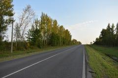 Δρόμος ασφάλτου οδικού εδάφους Στοκ φωτογραφίες με δικαίωμα ελεύθερης χρήσης