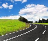 Δρόμος ασφάλτου στοκ φωτογραφίες με δικαίωμα ελεύθερης χρήσης