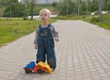 δρόμος ατυχήματος Στοκ Εικόνες