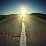 δρόμος αυγής στοκ φωτογραφία με δικαίωμα ελεύθερης χρήσης