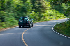 δρόμος αυτοκινήτων Στοκ εικόνα με δικαίωμα ελεύθερης χρήσης