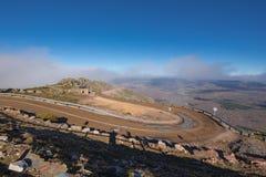 Δρόμος βουνών σε Pena το Francia, διάσημος προορισμός σε Σαλαμάνκα, Ισπανία στοκ φωτογραφίες με δικαίωμα ελεύθερης χρήσης