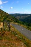 δρόμος βουνών της Γαλλία&sig Στοκ Εικόνες
