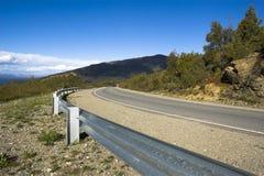 δρόμος βουνών Στοκ Εικόνες
