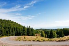 δρόμος βουνών Στοκ φωτογραφία με δικαίωμα ελεύθερης χρήσης
