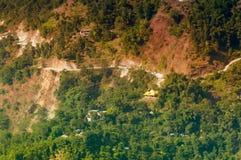 Δρόμος βουνών, Sikkim Στοκ εικόνα με δικαίωμα ελεύθερης χρήσης