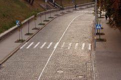 Δρόμος, για τους πεζούς πέρασμα στοκ φωτογραφία με δικαίωμα ελεύθερης χρήσης