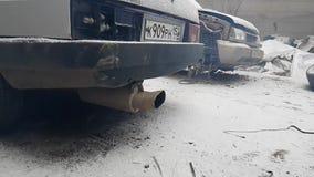 Δρόμος, διαδρομή, άσφαλτος, φυλές δαχτυλιδιών Ανταγωνισμοί συντονισμού Sportscar στα συντονισμένα αυτοκίνητα στην κλίση RDS φιλμ μικρού μήκους