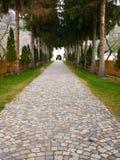 δρόμος εκκλησιών Στοκ Εικόνα