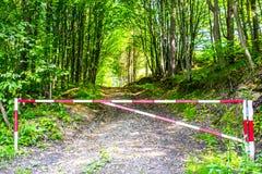 Δρόμος επάνω Στοκ Φωτογραφίες