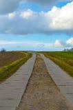 Δρόμος επαρχίας αγροτικός Στοκ Εικόνες