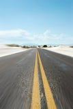 δρόμος ερήμων στοκ φωτογραφίες