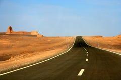 δρόμος ερήμων στοκ φωτογραφίες με δικαίωμα ελεύθερης χρήσης