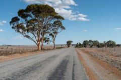 Δρόμος, εσωτερικός της δυτικής Αυστραλίας Στοκ εικόνα με δικαίωμα ελεύθερης χρήσης