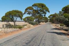 Δρόμος, εσωτερικός της δυτικής Αυστραλίας Στοκ Εικόνες