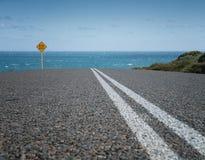 Δρόμος, εσωτερικός της δυτικής Αυστραλίας Στοκ εικόνες με δικαίωμα ελεύθερης χρήσης