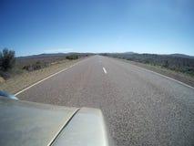 Δρόμος εσωτερικών χώρας στις σειρές Flinders απεικόνιση αποθεμάτων