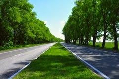 δρόμος ευρέως στοκ εικόνα