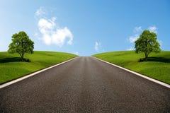 δρόμος ευρέως στοκ φωτογραφία με δικαίωμα ελεύθερης χρήσης