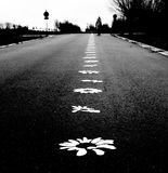 δρόμος ευτυχίας Στοκ Φωτογραφίες