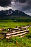 Δρόμος θερινών επιτέλους δολαρίων Telluride Κολοράντο Στοκ Εικόνες