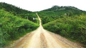 Δρόμος ιχνών Στοκ φωτογραφίες με δικαίωμα ελεύθερης χρήσης