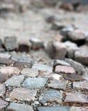 Δρόμος κάτω από την κατασκευή Στοκ Εικόνα