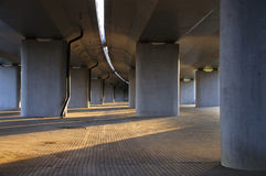 δρόμος κάτω Στοκ φωτογραφία με δικαίωμα ελεύθερης χρήσης