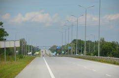 Δρόμος Κίεβο Kharkov στοκ φωτογραφίες