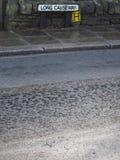 Δρόμος και πεζοδρόμιο Στοκ Εικόνες