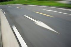 δρόμος καμπυλών Στοκ εικόνες με δικαίωμα ελεύθερης χρήσης