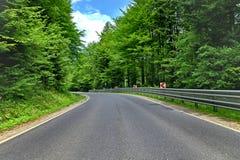 δρόμος καμπυλών στοκ φωτογραφίες με δικαίωμα ελεύθερης χρήσης
