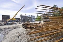 δρόμος κατασκευής κάτω Στοκ εικόνα με δικαίωμα ελεύθερης χρήσης