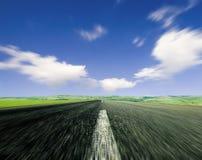 δρόμος κινήσεων θαμπάδων στοκ εικόνες με δικαίωμα ελεύθερης χρήσης