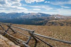 Δρόμος Κολοράντο κορυφογραμμών ιχνών Στοκ εικόνες με δικαίωμα ελεύθερης χρήσης