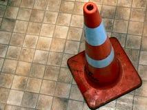 δρόμος κώνων Στοκ φωτογραφία με δικαίωμα ελεύθερης χρήσης