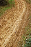 δρόμος λάσπης Στοκ Εικόνες