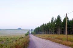 δρόμος λιβαδιών Στοκ Εικόνα