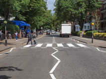 Δρόμος Λονδίνο UK αβαείων Στοκ Εικόνες