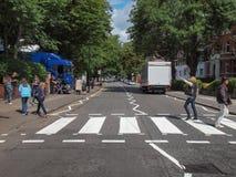 Δρόμος Λονδίνο UK αβαείων Στοκ Φωτογραφίες