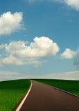 δρόμος λόφων στοκ φωτογραφία με δικαίωμα ελεύθερης χρήσης