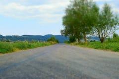 Δρόμος μέσω Carpathians Στοκ φωτογραφία με δικαίωμα ελεύθερης χρήσης