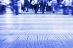δρόμος με έντονη κίνηση Στοκ Εικόνες