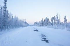 Δρόμος με πολλ'ες στροφές Στοκ φωτογραφία με δικαίωμα ελεύθερης χρήσης