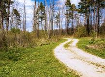 Δρόμος με πολλ'ες στροφές Στοκ εικόνα με δικαίωμα ελεύθερης χρήσης